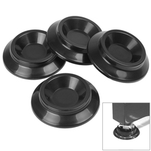 Portable Cheap 4Pcs Black Vertical Piano Cup Caster MATS Piano Caster Cups(China (Mainland))