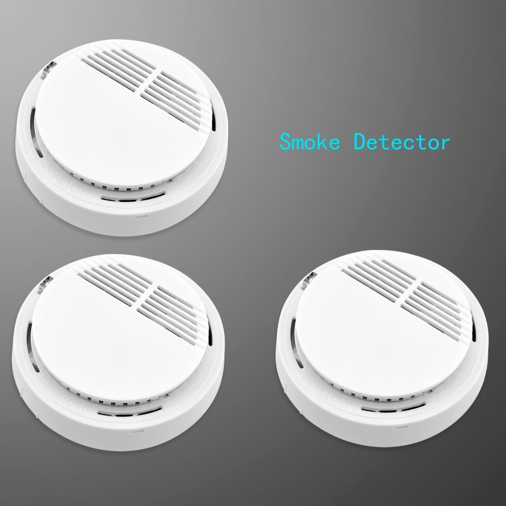 Гаджет  3pcs/lot Free Shipping!Wireless Smoke/fire Detector for Wireless GSM/PSTN Burglar Auto Dial Alarm System, Security Home Alarms None Безопасность и защита