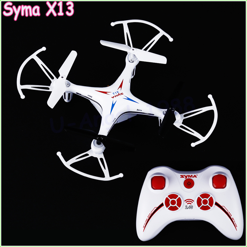 Original Syma X13 New Hot Drones RC Quadcopter 6-axis 2.4GHz 4CH RC Helicopter Drone RTF Remote Control 3D Flips Toy Vs x5c(China (Mainland))