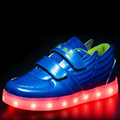 Hot New Blue Red Child Light Up Shoes With Wings For Girls Boys Colorful Glowing Kids