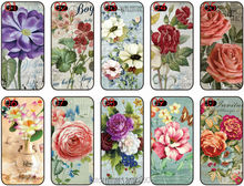 2016 Oil Painting Flower Cell Phone Cover iphone 5 5S SE 5C 6 6S Samsung Galaxy A3 A5 A7 A8 E5 E7 J1 J2 J3 J5 J7 Case - Custom and Retail Store store