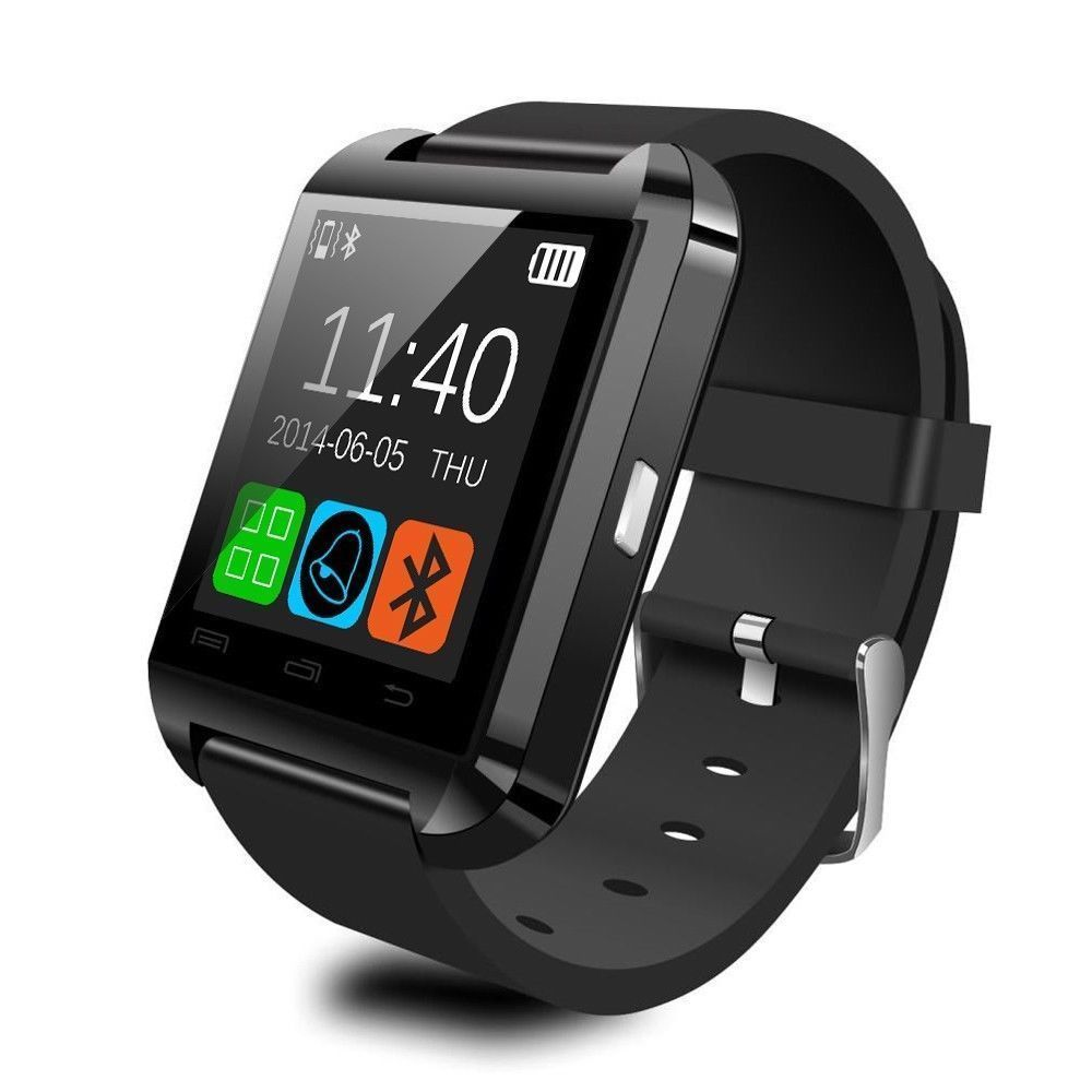 Pedometer Wrist Watch Bluetooth Smart Watch Phone Mate For iphone and Android phone Samsung Huawei Sony with Retail Gift Box(China (Mainland))