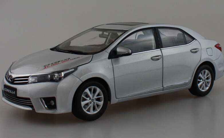 2015 hot sell Toyota 2014 New COROLLA 1:18 alloy car model(China (Mainland))