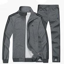 Men's Sportwear Plus Big Size XXXL 4XL 5XL 6XL 7XL 8XL Set Male Clothing Jogger Suit Tracksuits Sporting Wear Sweatshirt + Pants(China (Mainland))