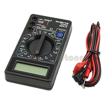 Buy 1pc Digital Multimeter Buzzer Voltage Ampere Meter Test Probe DC AC LCD Nice #U225# for $3.64 in AliExpress store