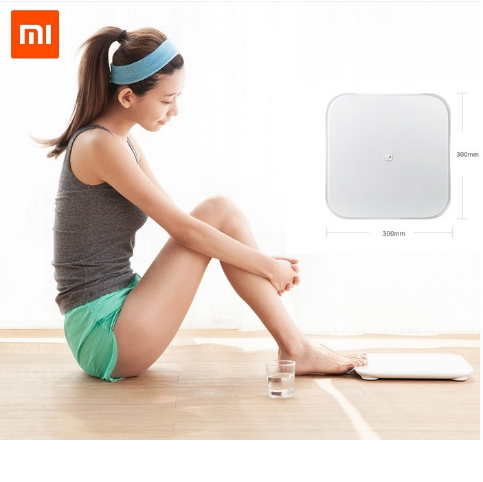 Original xiaomi mi smart weighing scale xiaomi weigh scale support Android 4.4 abovebluetooth4.0white color in sock soon(China (Mainland))