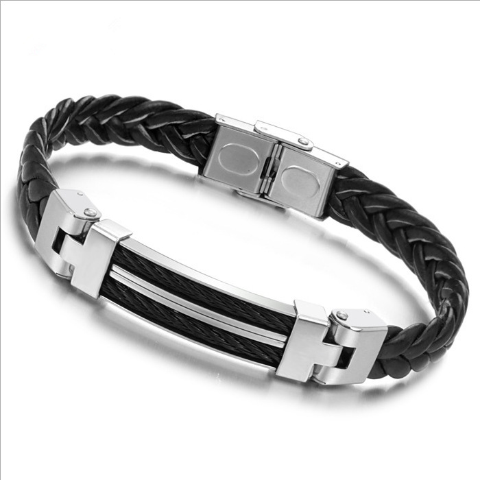 Cool Casual Men's Bracelets Silicone Braided Bracelet Quite Distinctive Price PH524  -  Coolcastle store
