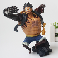 Buy 17CM Anime One Piece Gear New Fourth Monkey D Luffy 4 PVC Action Figure Heroes Model for $14.99 in AliExpress store