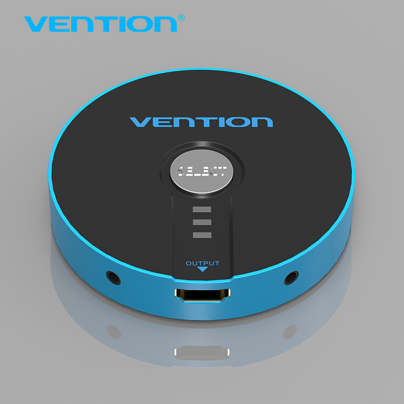 Vention 3 in 1 out High Speed HDMI Switch Switcher HDMI Splitter HDMI Cable for XBOX PS3 Smart Supports 4K, Full HD1080p, 3D(China (Mainland))