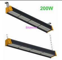 2PCS/LOT free shipping AC85-265V IP65 200w led bar 200w led warehouse light(China (Mainland))