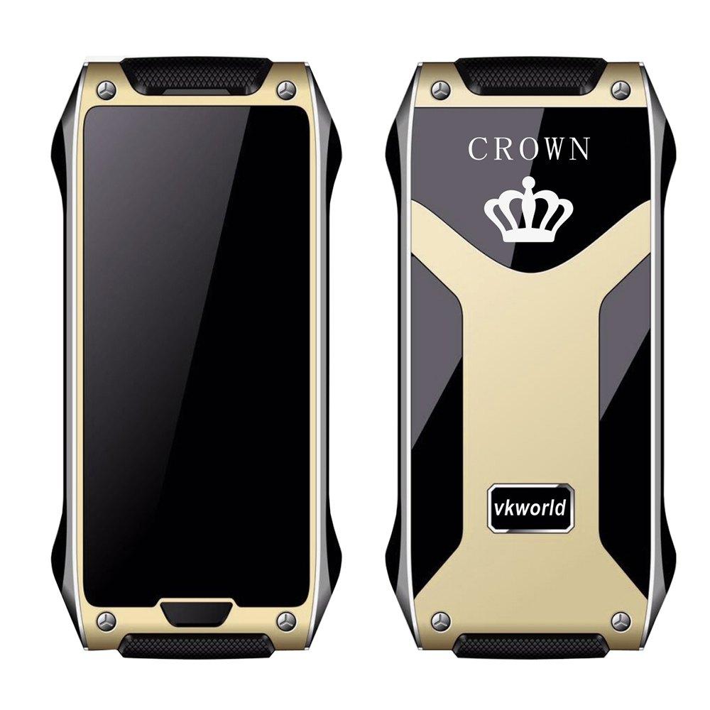 "Original VKworld Crown V8 1.63"" 4.9 mm Ultra Thin Cellphone Quad Band Unlock Phone Guard Lock Pedometer Remote Control Bluetooth(China (Mainland))"