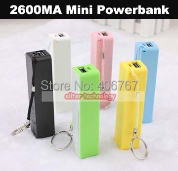 Зарядное устройство 2600mah Powerbank 250PCS ellter зарядное устройство duracell cef14 аккумуляторы 2 х aa2500 mah 2 х aaa850 mah