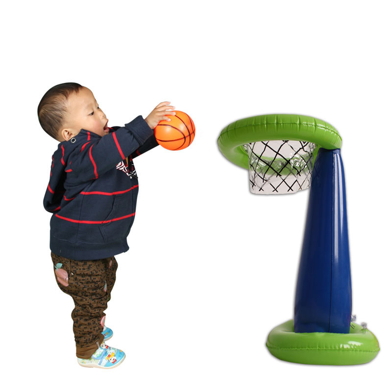 Kids Shoot Basket Game Inflatable Basketball Stands Child & Family Gatherings & Collective Game Prop Party Supply Inflatable Toy(China (Mainland))