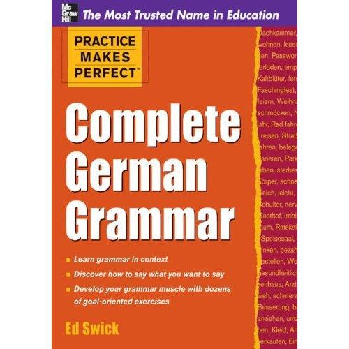 Practice Makes Perfect Complete German Grammar [Kindle Edit(China (Mainland))