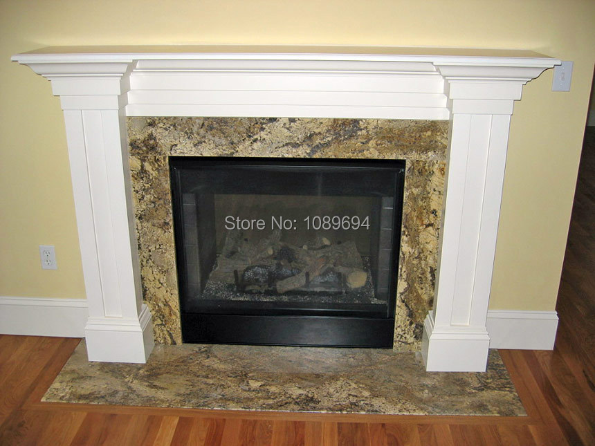 French simple design marble fireplace indoor stone hearth for Building an indoor fireplace