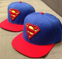 2015 New Fashion Superman Snap Back Snapback Caps Hat Super Man Adjustable Gorras Hip Hop Casual Baseball Cap Hats for Men Women(China (Mainland))