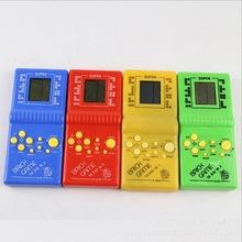 Qualità tetris brick palmare gioco giocattolo per i bambini(China (Mainland))