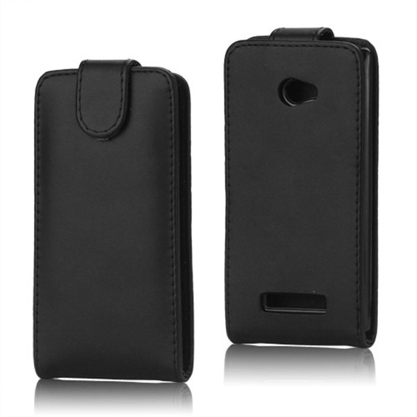 For HTC 8X Case, Classic Vertical PU Leather Case Cover for HTC Windows Phone 8X 1PCS Free Shipping(China (Mainland))