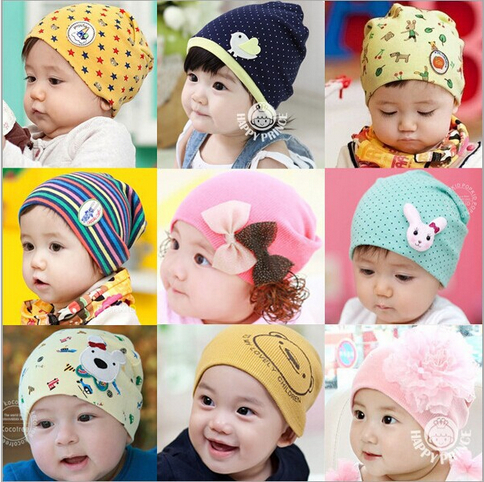 2014 Lovely Pattern Baby Hat Winter Knitted Cap For child kids baby beanies Cotton Infants Hat Freeshipping(China (Mainland))