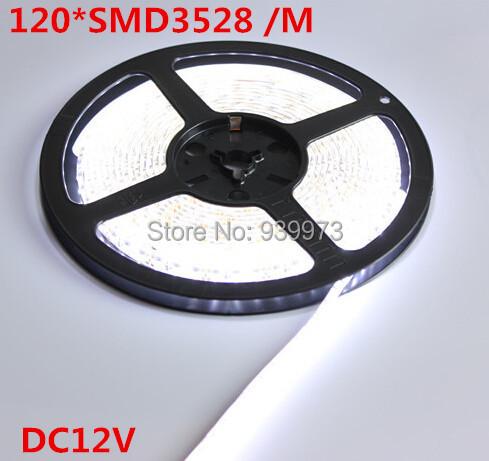 Гаджет  5m 600 LED 3528 SMD 12V flexible light 120 led/m,waterproof  LED strip, white/warm white/blue/green/red/yellow None Свет и освещение