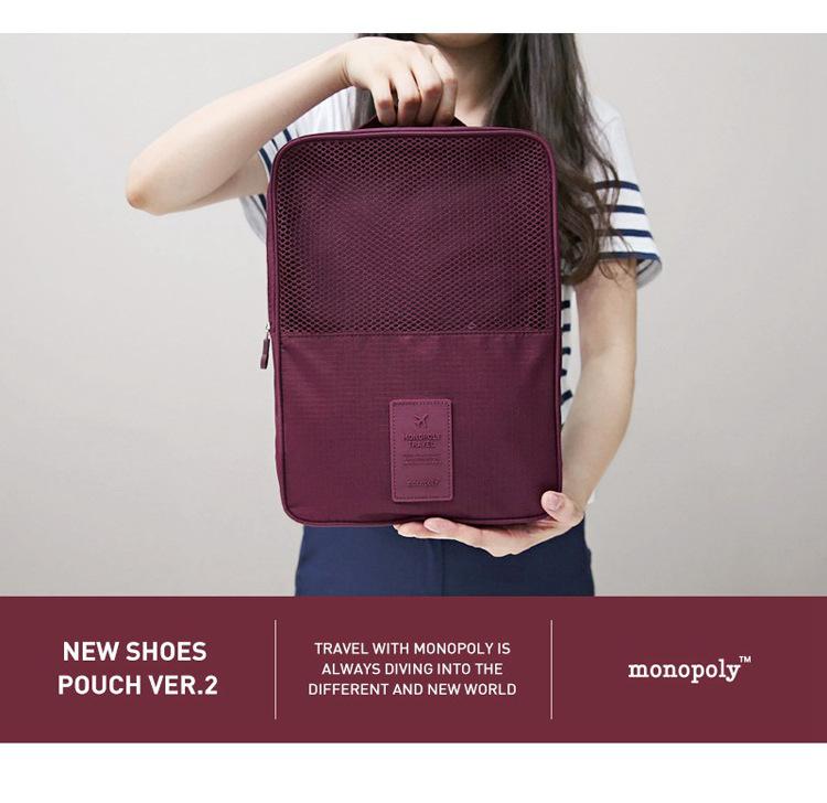 Nylon Packing Cube travel bag for shoes men's travel bags Weekender Set sport bag storage bag Organizer(China (Mainland))