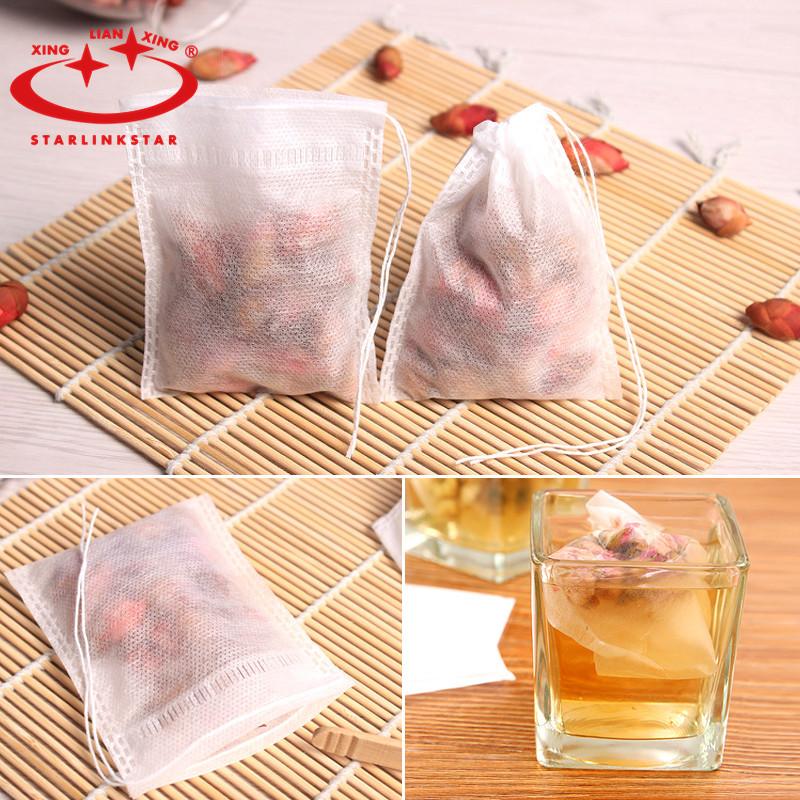 100pcs/lot Reusable Nylon Mesh Strain Tea Pulp Juice Jelly Food Nut Milk Filter Bag Washing fruits and vegetables kitchen tools(China (Mainland))