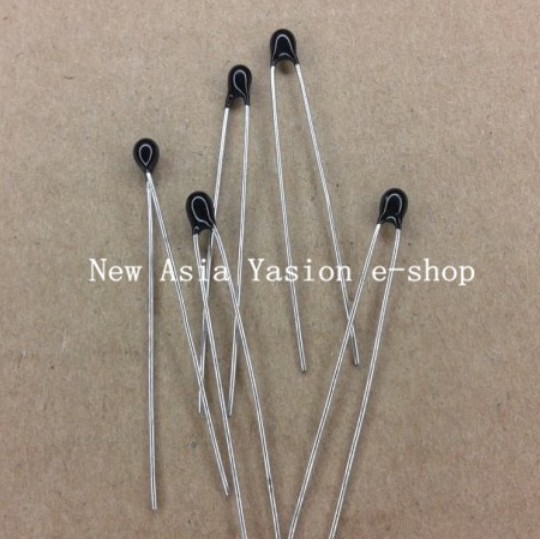 Free Shipping 50pcs 10k OHM NTC Thermistor Resistor NTC MF52AT 10K 5