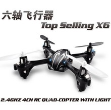 The new 2.4G remote control quadrocopter quadrotor helicopter model airplane toys can be a key roll