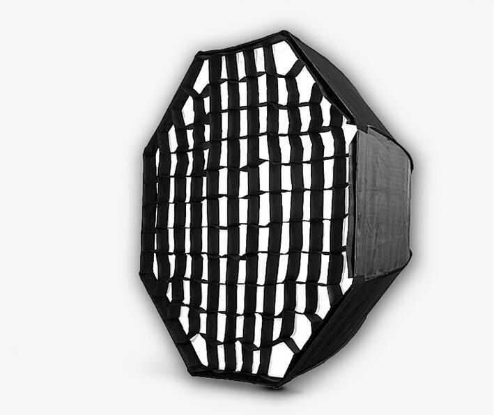 Nicefoto KS95 Honeycomb 95cm Grid Umbrella Frame Photo Studio Octagon Softbox Soft Box For All Strobe Flash Lighting(China (Mainland))
