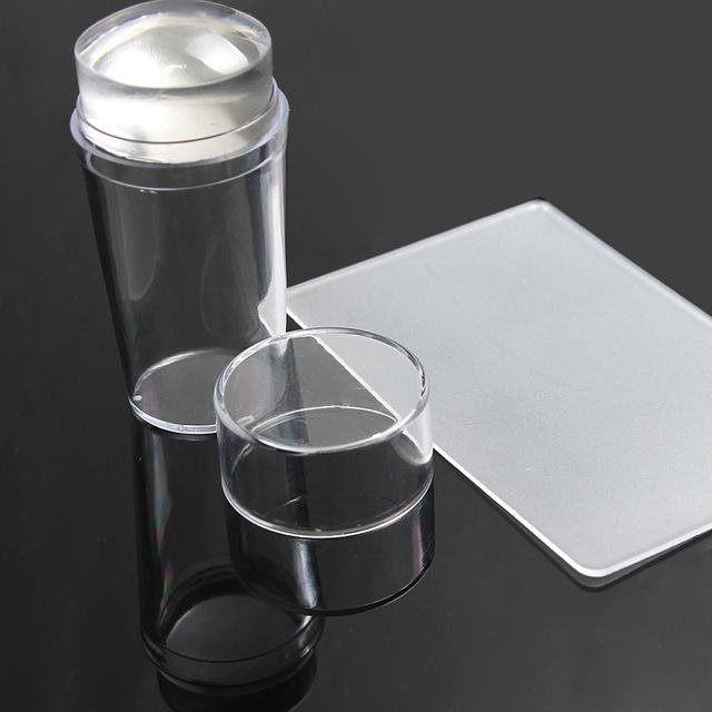 Pure Clear Jelly Silicone Scraper