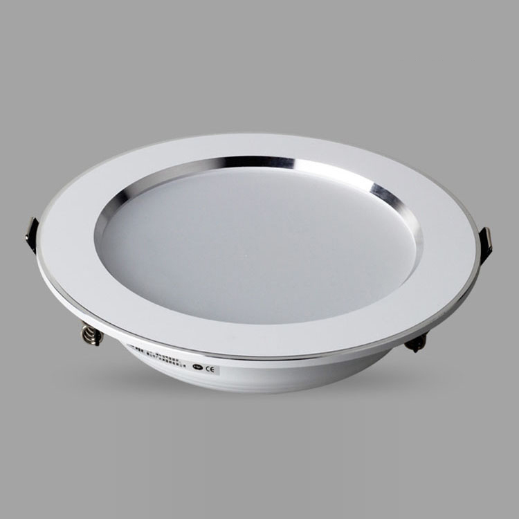 2015 New LED downlight,press button can change light color,dimmable downlight LED lamp,round shape(China (Mainland))