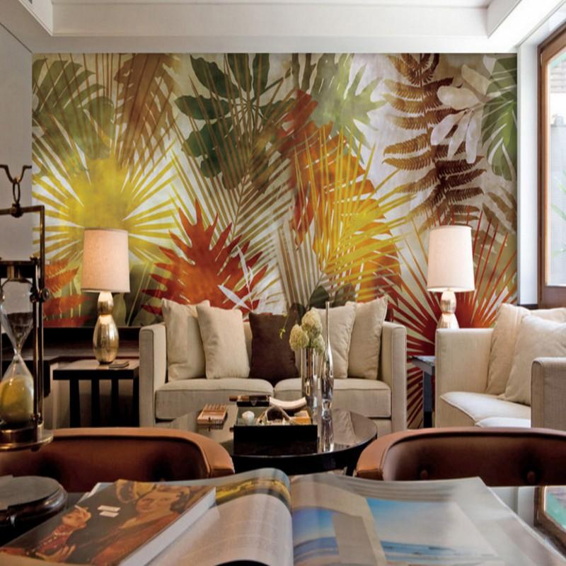 Online kopen wholesale palmboom behang uit china palmboom behang groothandel - Stijl asiatique ...