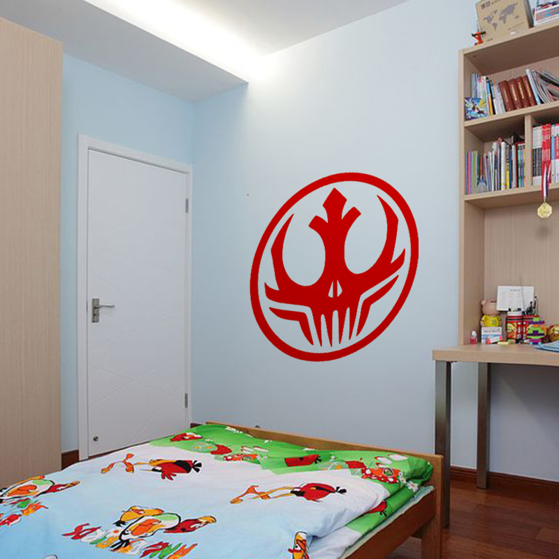 58cm x 58cm 2 x Star Wars Dark Side Alliance Logo Graphic one For Each Side