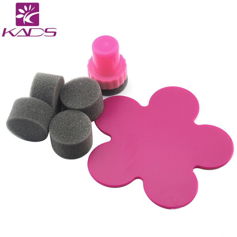 Hotsale50pcs / pacote Nail Art Stamping Template polonês transferência de ferramentas Kit DIY ou Nail Art gradualmente mudar de cor