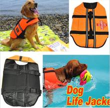 1Pcs New Style Dog Jackets Life Vest Can Adjustable Dog Apparel Swimming Saver Pet Dog Products Accessories(China (Mainland))