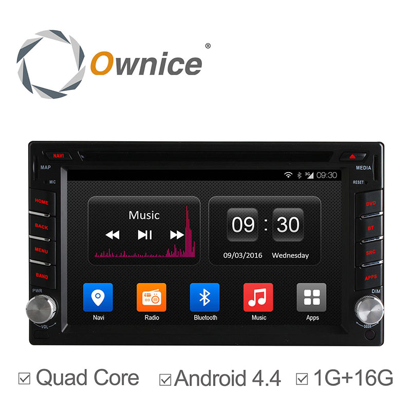 Android 4.4 Quad Core universal Car Radio Double din Car DVD Player GPS Navigation support mirror link ipod TPMS DAB+ 3G 16G ROM(China (Mainland))
