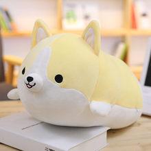 30/45/60 cm Corgi Dog Plush Toy Stuffed Animal Macio Bonito Dos Desenhos Animados Travesseiro Lindo Presente de Natal para crianças Kawaii Presente Do Valentim(China)