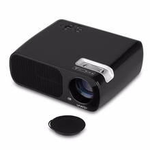 Uhappy BL20 Black LCD Projector Home Theater HDMI Projector 800x480 Resolution,2600 Lumen Projector With USB/HDMI/ATV/AV/VGA(China (Mainland))