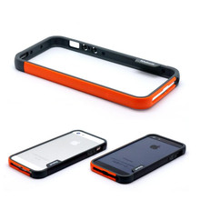 2pcs/lot 2016 Hot Discount Fruit Colors Soft Tpu Bumper Silicone case For Iphone 5 5s Bumper Cover Side Protective bumper Frame(China (Mainland))