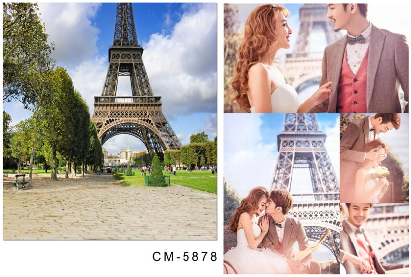 3M*6M(10FT*20FT)Tree-lined tower photography backdrops seniorWedding backgroundcm-5878<br><br>Aliexpress