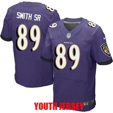 Top quality Justin Tucker Joe Flacco Terrell Suggs Steve Smith Ray Lewis For youth kids Raven(China (Mainland))