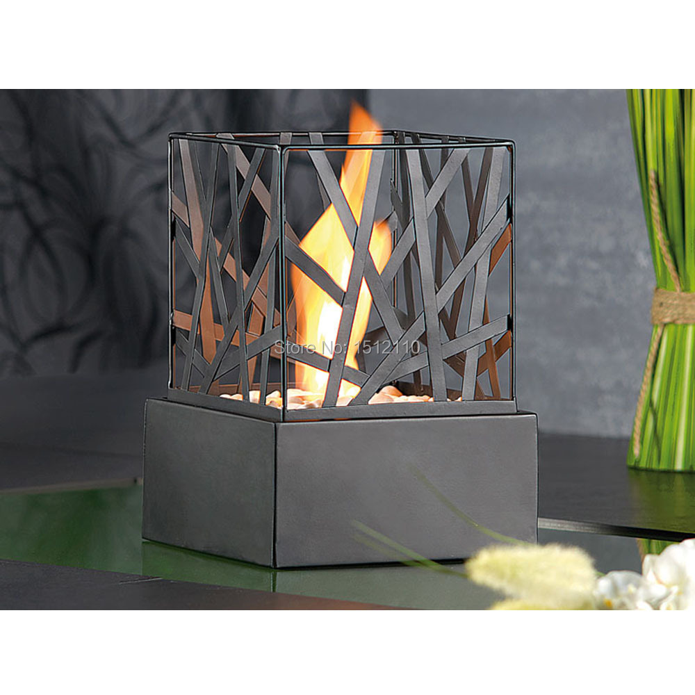 Free Shipping Bio- Ethanol Table Top Fireplace Home Decoration Fences Design KW2306(China (Mainland))