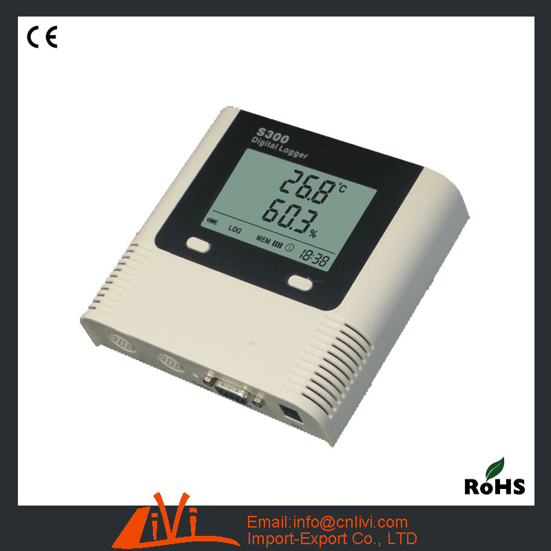 S300-TH-RJ45 Thernet Thermometer Real-time Remote Monitor Temperature Humidity Meter TCP IP Temperature Data Logger(Hong Kong)