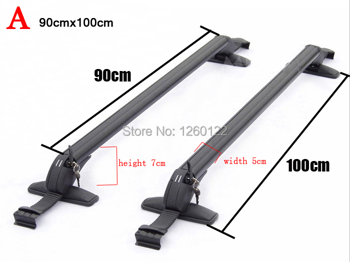 Car Roof Rack Car Top Racks Cross Bar No Drilling Required Quality Universal Aluminium-Alloy Size A AAAA(China (Mainland))
