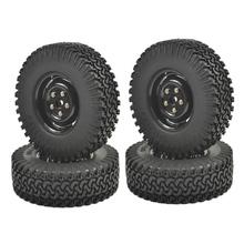 "4PCS 1/10 Crawler Tire Set 1.9"" With Foam Insert for RC Crawlers 1/10 RC Crawler 1.9"" 98MM Tire&Plastic Wheel set(China (Mainland))"