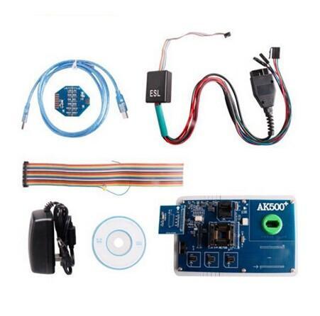 Carcode 1pc MB AK500 key programmer update AK500 plus Key maker AK500+ Key Programmer for mercedes ESL key programming(China (Mainland))