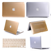 Super Cool ! New Latest Champagne Gold Silver Sleeves Covers Case for MacBook Air 11 13 / Pro 13 15 / Pro Retina 13 15 With LOGO(China (Mainland))