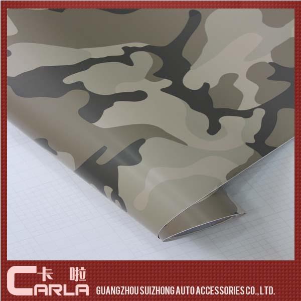 FREE SHIPPING Desert Camouflage Car Wrap Vinyl Film Camo Film Size 50cmX152CM(China (Mainland))
