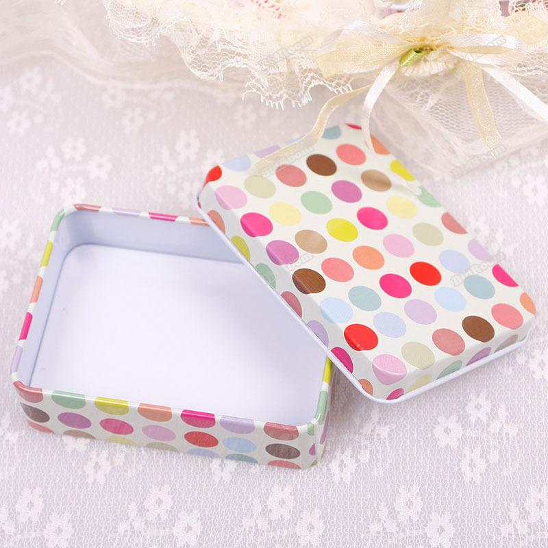 Decorative Designs For Cards Card Decor Tin Storage Bag