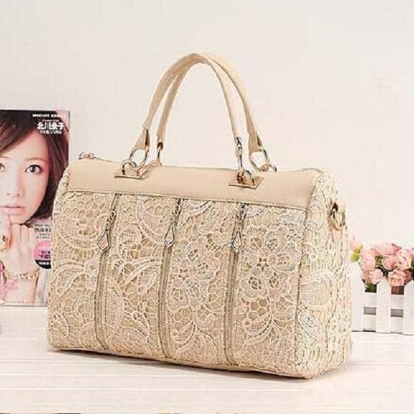drop shipping hot sale New 2015 spring female bags fashion vintage lace bag shoulder bag handbag women messenger bag(China (Mainland))